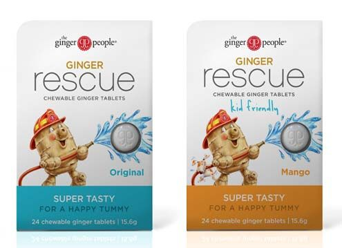 Tame that tum with our new Ginger Rescue chewable ginger tablets. #Gingertotherescue