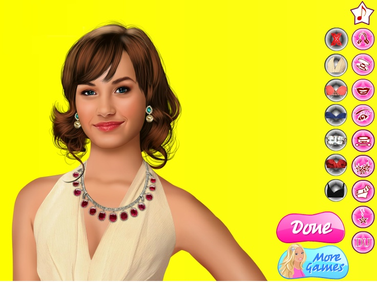 Demi Lovato Real Makeover Games Online girl games, Games