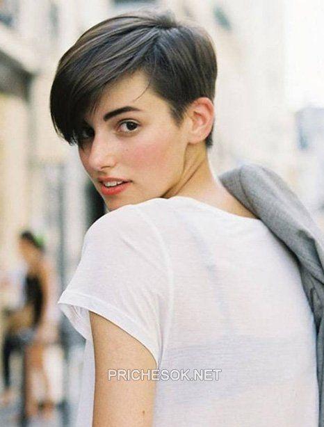 модные короткие стрижки на короткие волосы фото