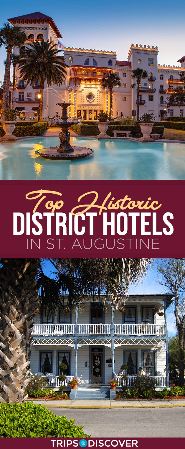 10 Cozy Hotels For Your Next Getaway To This Historic Florida Town Florida Hotels St Augustine Florida Saint Augustine Beach