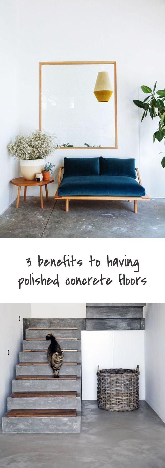 3 Benefits to having polished concrete floors | Polished ...