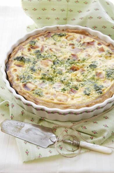 Quiche Met Prei, Broccoli, Ham En Kaas recept | Smulweb.nl