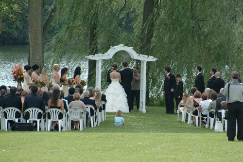 Tralee outdoor wedding