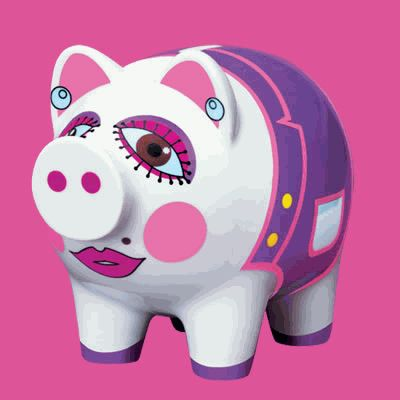 Jeri's Organizing & Decluttering News: What a Pig! Piggy Banks and Money Boxes Worth a Look