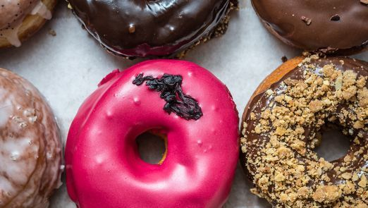 Indulge in unique doughnut flavors, from nacho at the new Trejo's Donuts to brownie batter at New Orleans District Donuts, for National Doughnut Day.