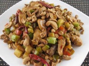 Een recept waar heerlijke malse kip met een saus gebaseerd op de Aziatische keuken, gevuld met cashew noten, gember, honing en sesam olie je hele dag goed zal maken. Maak dit gerecht samen met vers gemaakte Jasmijn rijst voor de beste smaak combinatie....