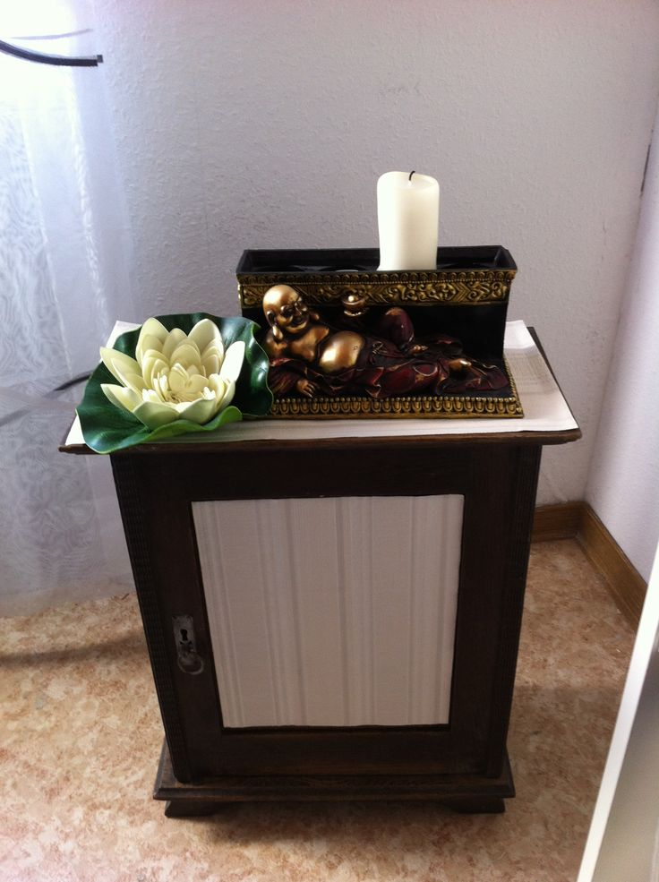 old wooden cabinet with a new style