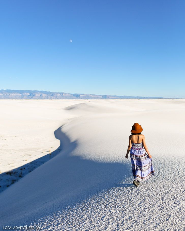 Sand Sledding at White Sands National Monument New Mexico. New Mexico UsaCarlsbad  ...