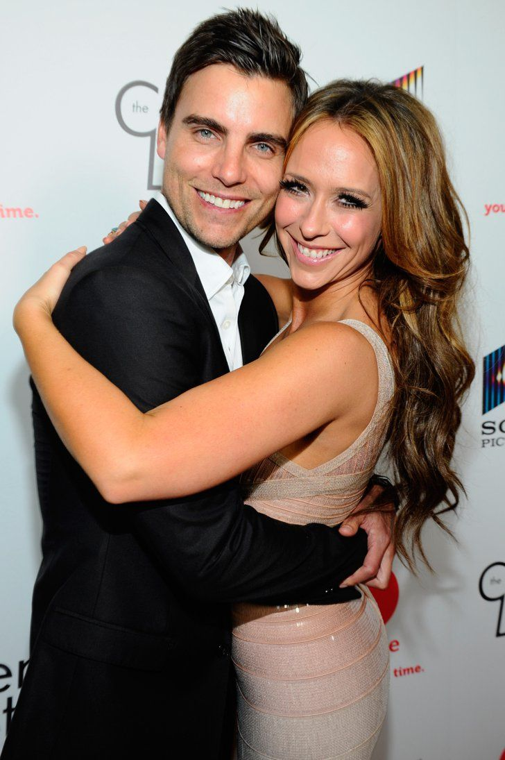 Pin for Later: 18 Actors Who Couldn't Seem to Stop Dating Their Costars In 2012, Jennifer hooked up with her Client List costar Colin Egglesfield . . .