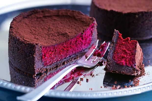 Red velvet cheesecake. Photographed Ben Dearnley