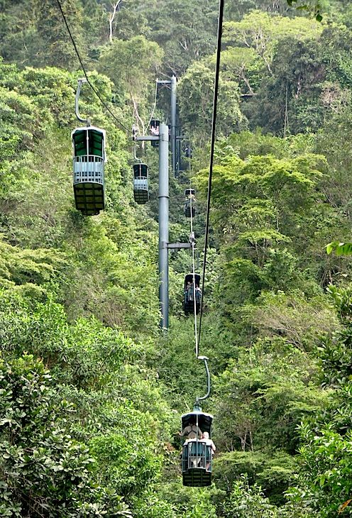 Costa Rica - a ride on aerial tram above the forest canopy | Photo: William Durham with Pin-It-Button on http://www.trekearth.com/gallery/Central_America/Costa_Rica/West/Puntarenas/Puntarenas/photo1405920.htm