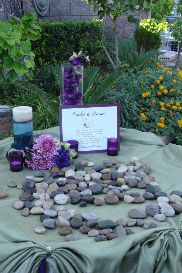 Embrace the old European tradition to add a meaningful highlight to your wedding ceremony. The Oathing Stone is an old Scottish tradition where the Bride and Groom place their hands upon a stone wh…