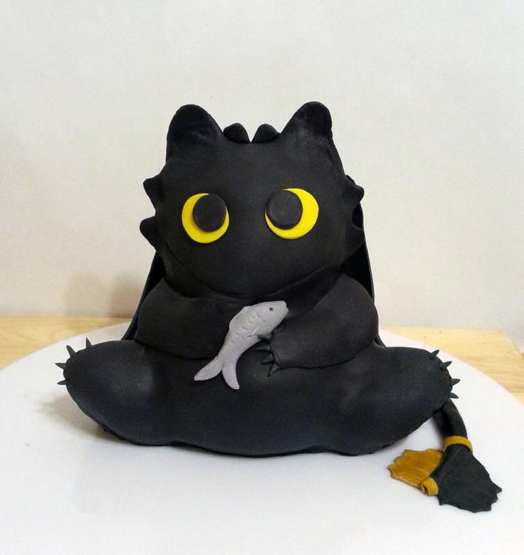 How To Train Your Dragon Cake Super Cute Toothless