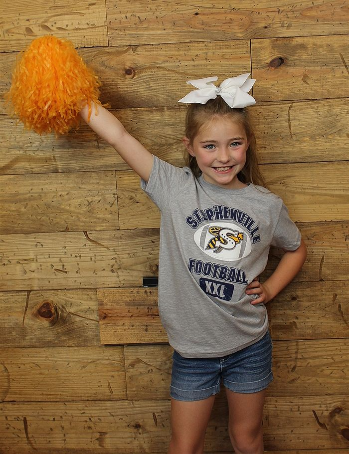 Let your little one show their love for the Jackets with this t-shirt WE LOVE…