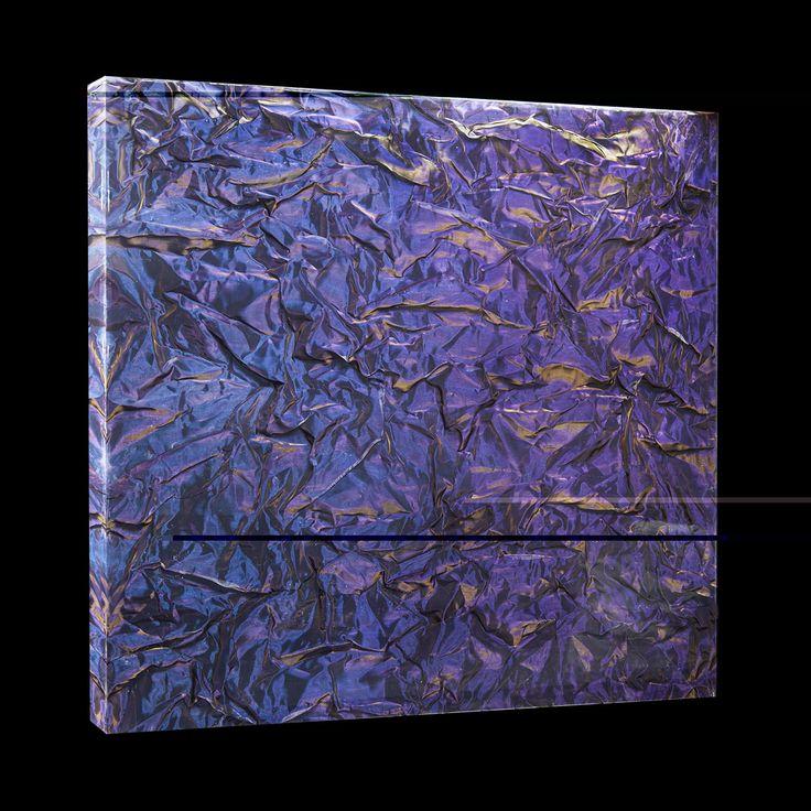 Blu Metal Fabrics in acrylic sheet