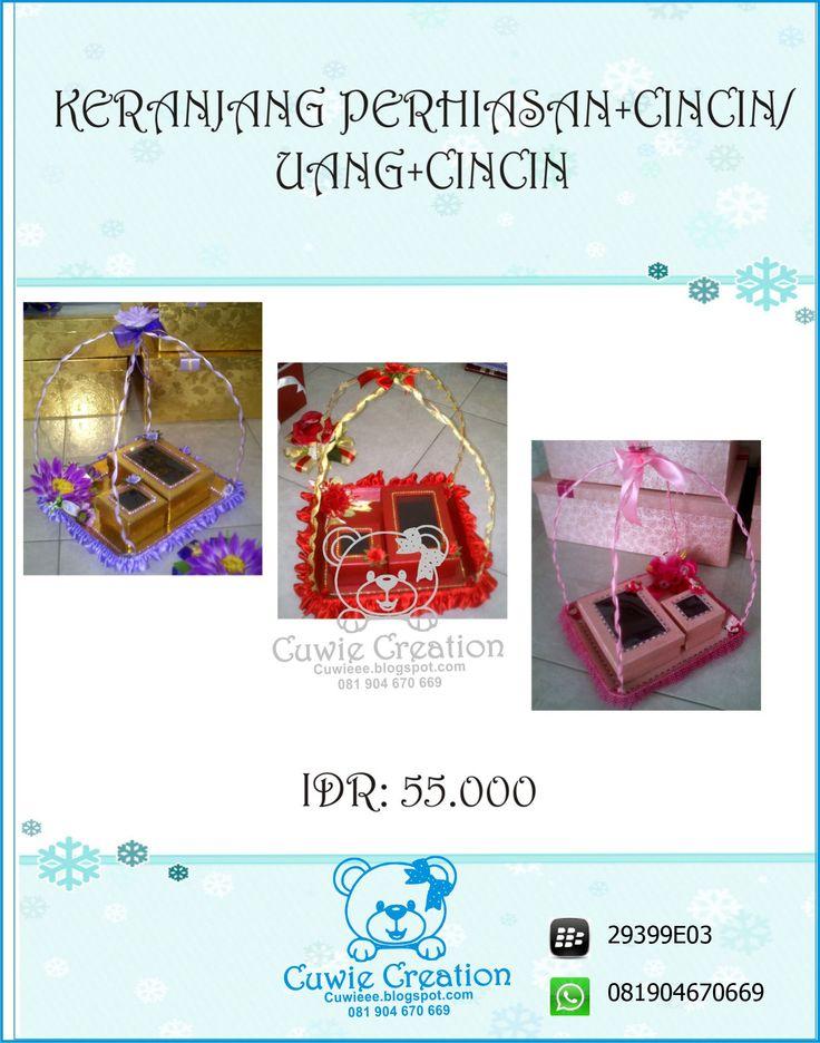 Kotak Mahar Hantaran Pernikahan cuwie creation  instagram @cuwiecreation