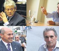 Carlos Kunkel, Gabriel Katopodis, Mario Secco y Juan Carlos Schmid.
