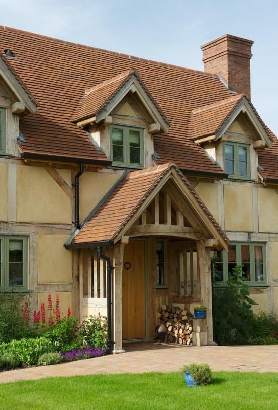 Border Oak - Oak Framed Halfpenny Cottage.