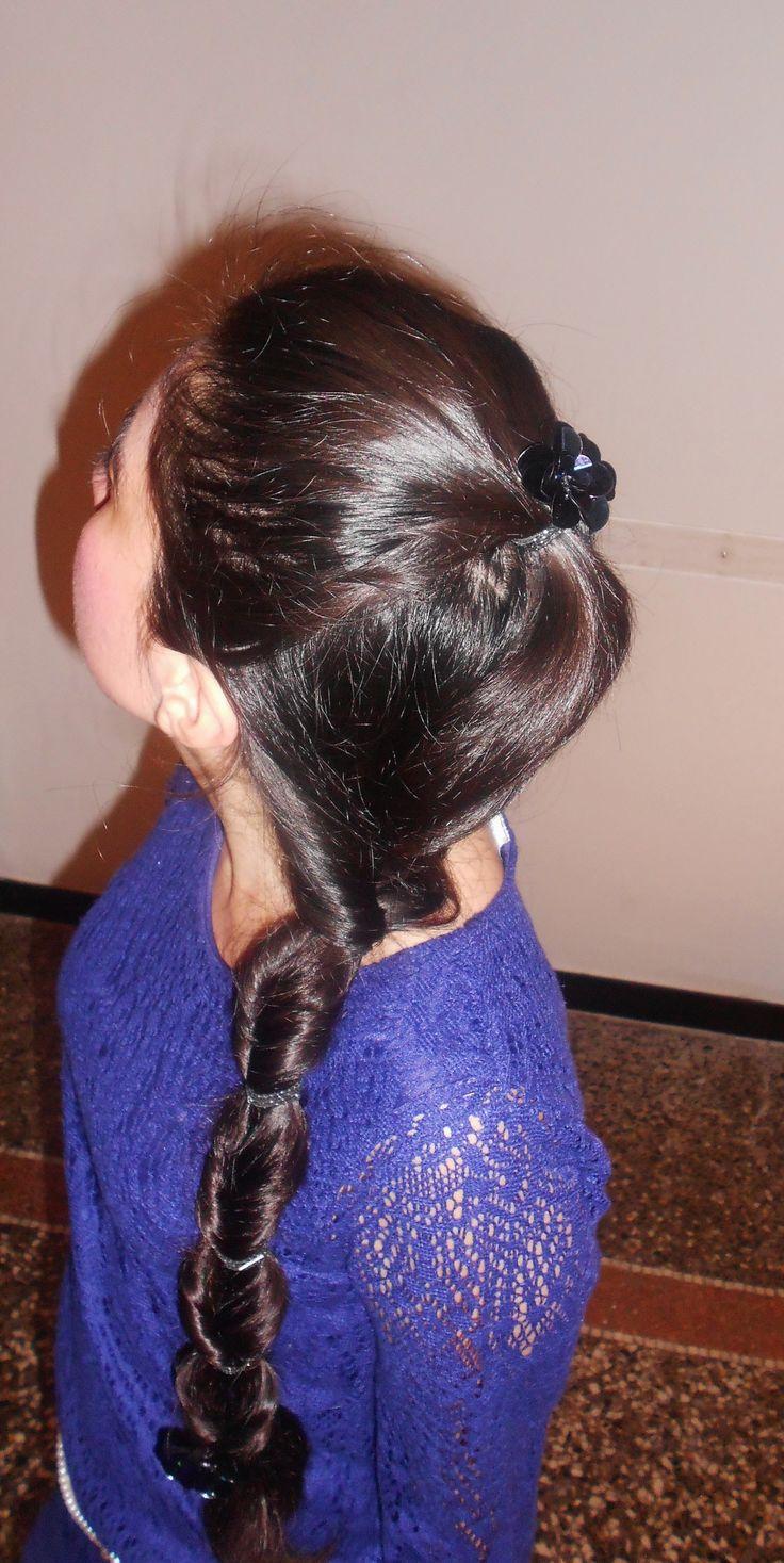 Simple #braid #hair, acconciature semplici, #belle sempre