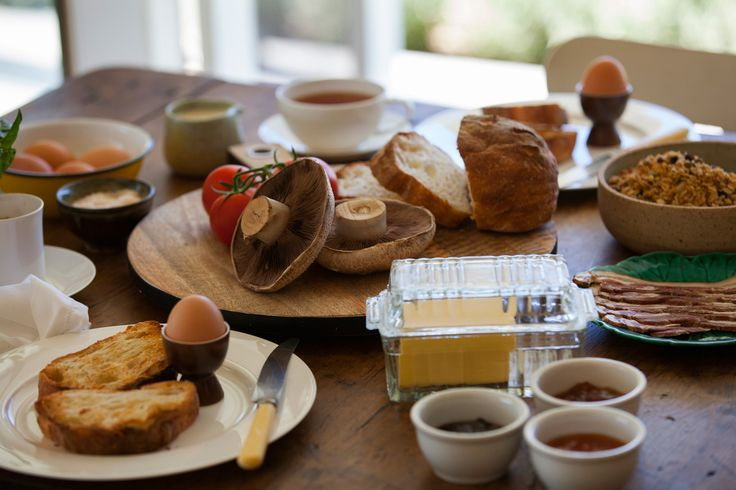 Look at this spread for breakfast...Perfect for when your on a weekend away!