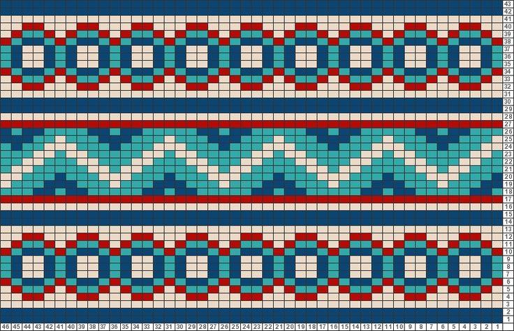 Tricksy Knitter Charts: Mosaic by Cynthia