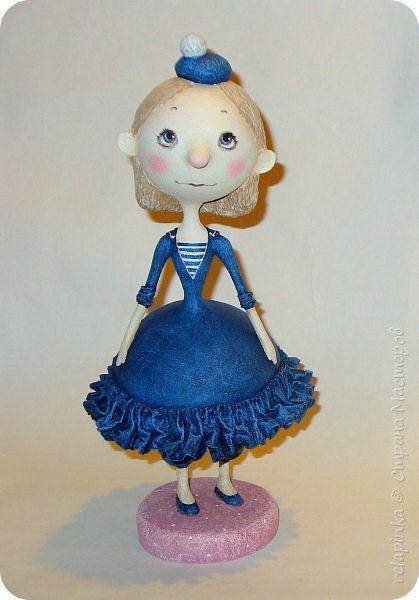 Мастер-класс Папье-маше Как наладить куколку Бумага фото 1
