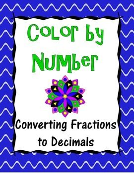 In this activity, students will practice converting fractions to decimals, including repeating decimals and mixed numbers, while they create a colorful masterpiece!  Students will color a mandala with the colors indicated according to their answer.  The final product creates a beautiful, eye-catching mandala that serves as excellent classroom decor!