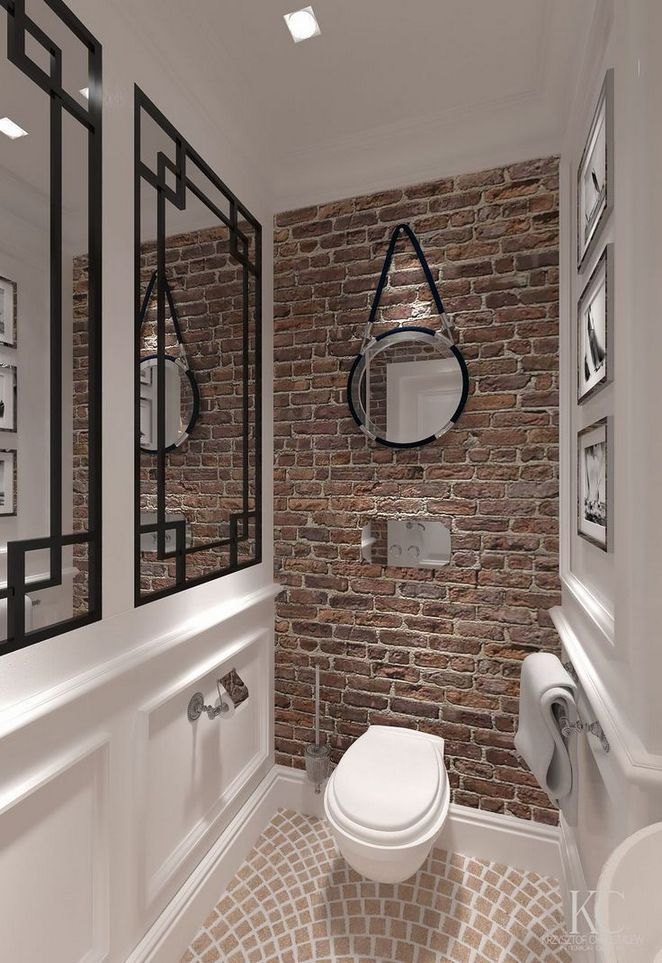 40 The End Of Brick Wall Bathroom Brick Tiles Bathroom Brick Bathroom Bathroom Sink Design
