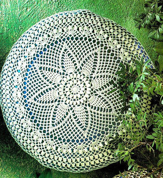 PDF Radiating Popcorn Lacy Cushions Crochet by TheAtticofKitsch