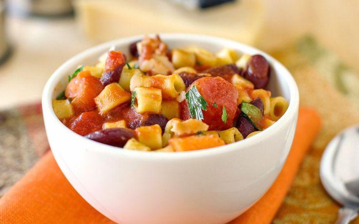 30 minute hearty pasta fagioli fagioli soup 30 minute meals quick ...