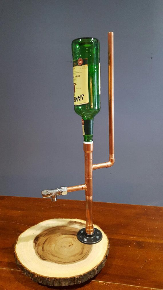 Dispensador de licor solo por Lumberamics en Etsy