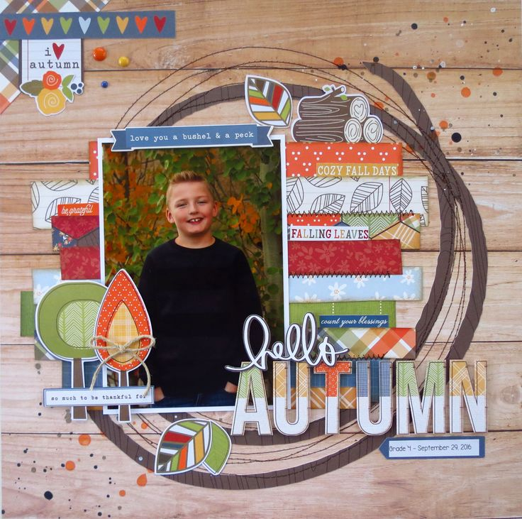 Hello Autumn - Simple Stories - Hello Fall Collection