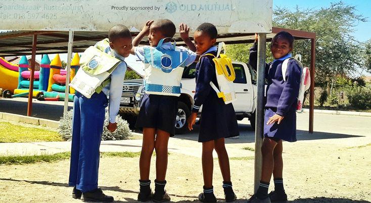 In South Africa Solar School Backpacks Provide Light For