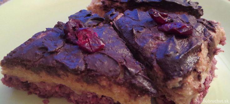 Fotorecept: Nepečený koláč s jablkovým tofu krémom