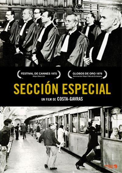 Sección especial (1975) Francia. Dir.: Costa-Gavras. Drama. Suspense. Histórico. II Guerra Mundial - DVD CINE 1897