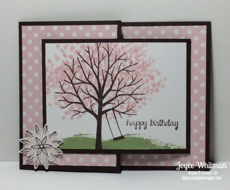 Sheltering Tree Joy Fold Card                                                                                                                                                      More