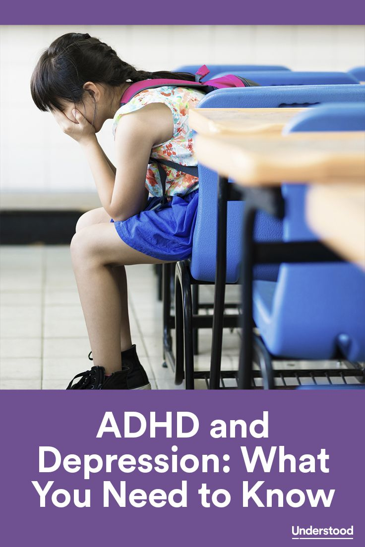 If you think your child with ADHD might be showing signs of depression, you're not alone. A lot of kids with ADHD—about 40 percent, according to one long-term study—struggle with depression at some point.