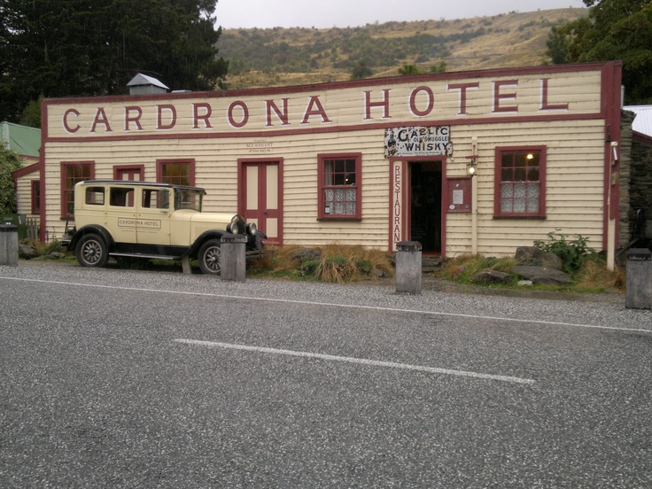 Cardrona Hotel - iconic pub - Central Otago, New Zealand