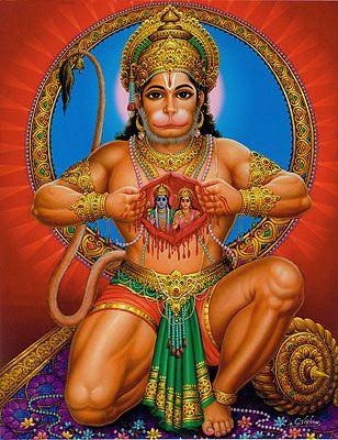 Hanuman Sacred Heart