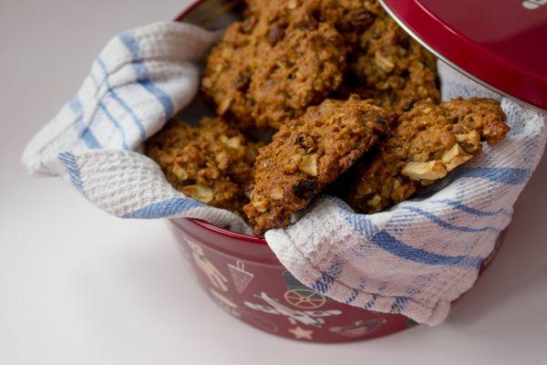 Рецепт веганского овсяного печенья