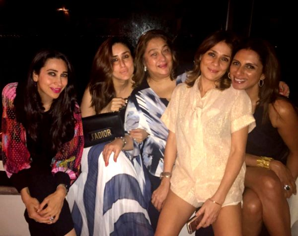 Saturday done right! Kareena Kapoor Khan spends quality time with sister Karisma and mommy Babita #FansnStars