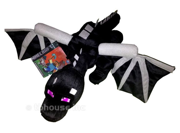 ENDER DRAGON plush MINECRAFT figure SUPER DELUXE spin ...