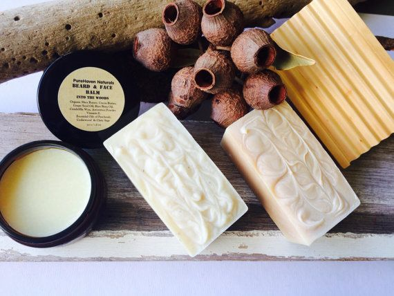 Men's Skincare Gift. All-Natural. 2 x Soap by PureHavenNaturals
