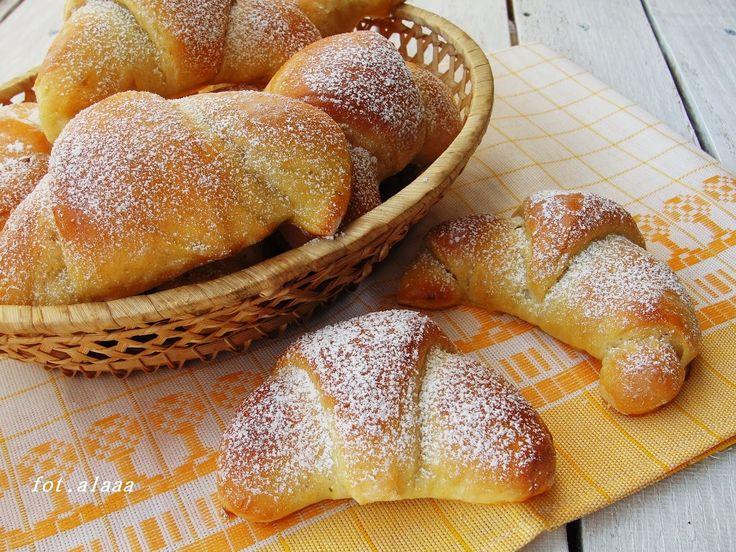 Ala piecze i gotuje: Rogaliki z dodatkiem ziemniaków