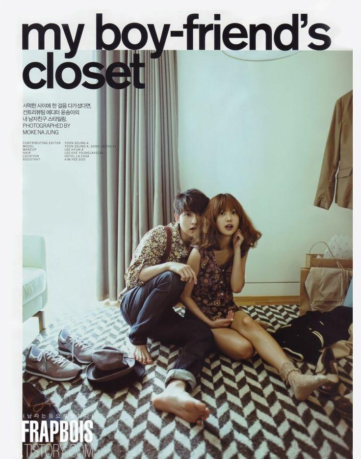 [연예인 잡지화보] 송중기&윤승아 커플화보 사진모음 : 네이버 블로그