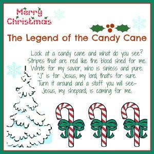 Legend of a Candy Cane