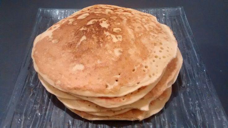 Pancake à la farine de pois chiche (vegan, sans gluten, sans lait, sans œuf)