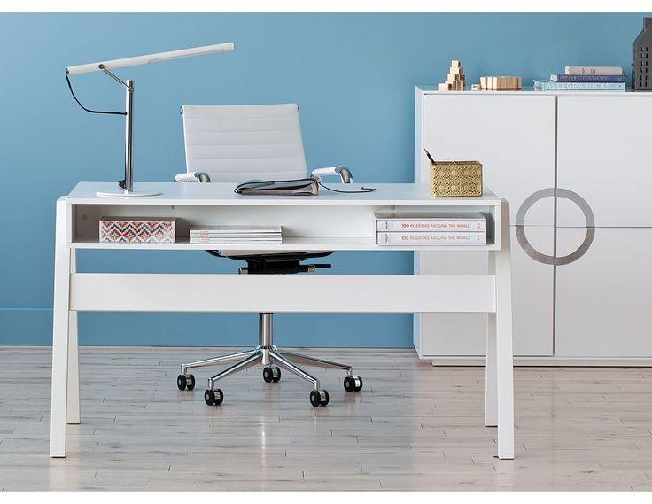 Structube - Office : Desks : Lena (White)
