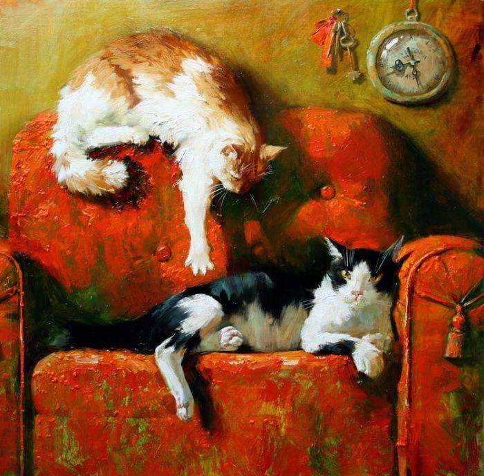 - Старое кресло. Maria Pavlova