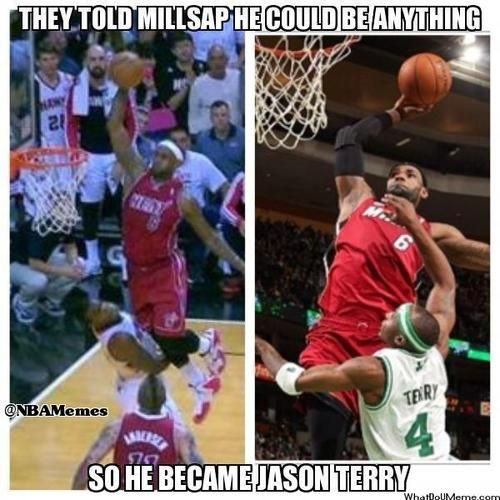 Paul Millsap AKA Jason Terry?  - http://nbanewsandhighlights.com/paul-millsap-aka-jason-terry/